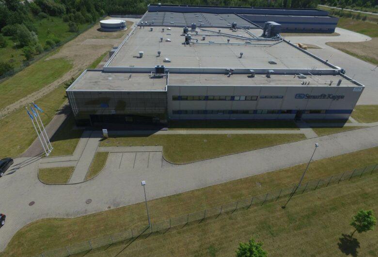 """""""Smurfit Kappa Baltic"""" popierinių pakuočių gamykla"""